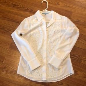 Antonio Melani white blouse
